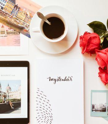 Myšlenkář Ι Zápisník pozitivních myšlenek na každý den